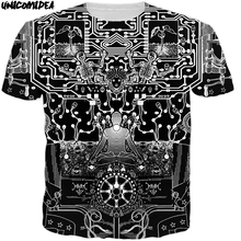afc1e4c3c4d 2018 marvel camiseta fancy Graffiti Hiphop camisa Africana abstracta camisa  3D impresión calle monopatín camiseta fresca
