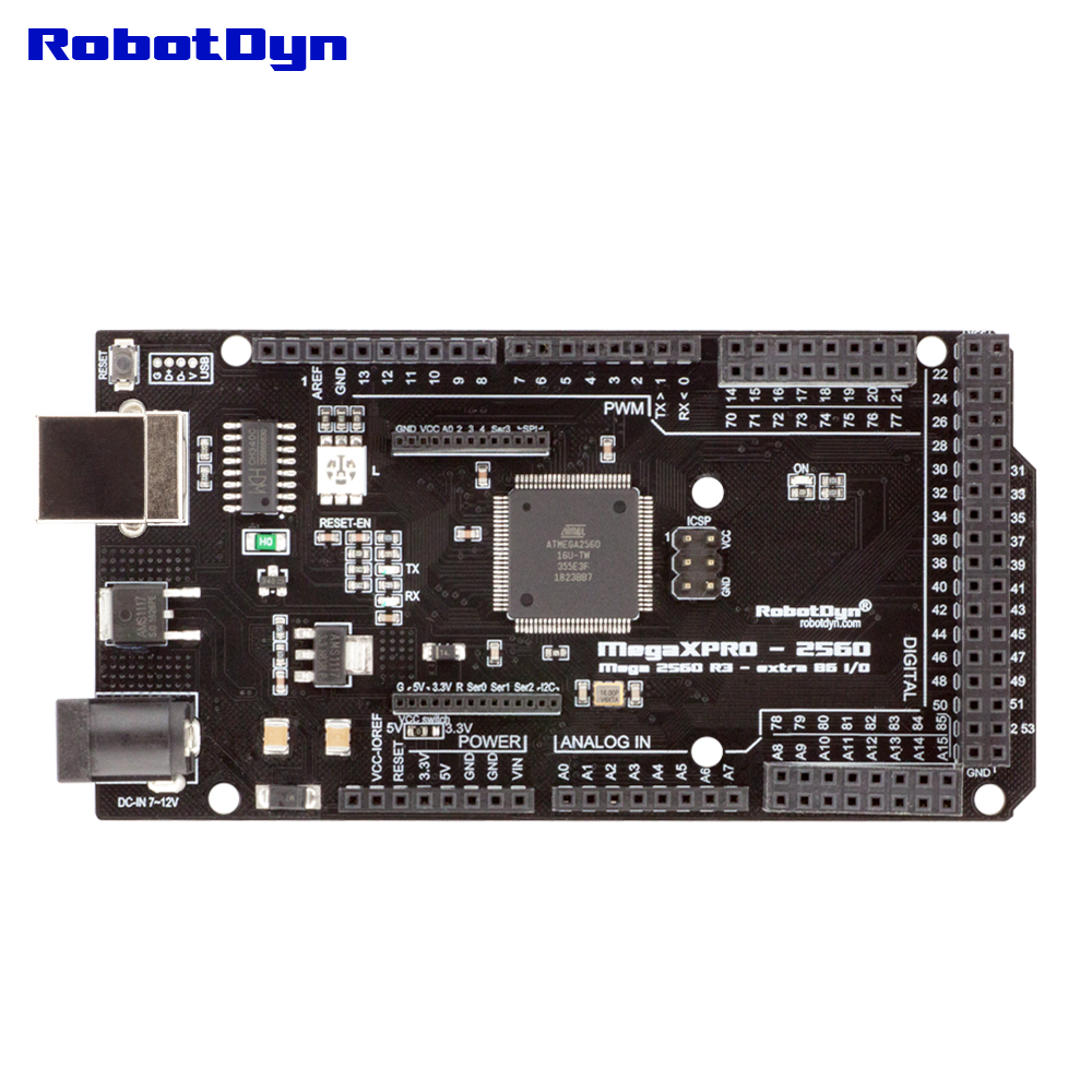 Image 5 - Mega XPro 2560 R3  extra 86 I/O, CH340C/ATmega2560 16AU, RGB LED, 5V3.3V logic level. Compatible for Arduino IDE-in Integrated Circuits from Electronic Components & Supplies