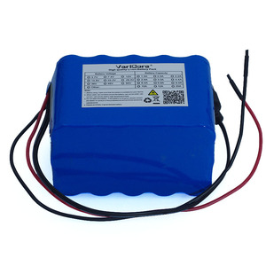 Image 4 - VariCore 100% New Protection Large capacity 12 V 10Ah 18650 lithium Rechargeable battery pack 12v 10000 mAh capacity with BMS