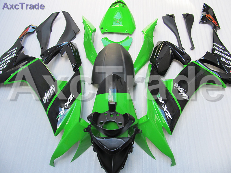 High Quality ABS Plastic For Kawasaki Ninja ZX10R ZX-10R 2008 2009 2010 08 09 10 Moto Custom Made Motorcycle Fairing Kit C508 black moto fairing kit for kawasaki ninja zx14r zx 14r zz r1400 zzr1400 2006 2007 2008 2009 2010 2011 fairings custom made c549