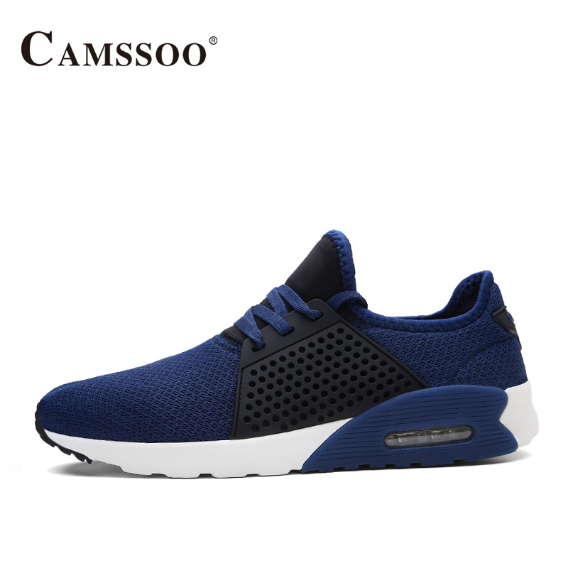 Camssoo Mens Sports Shoes Running Breathable New Sneakers Men Spring Autumn Outdoor Walk Run Shoes AA40371