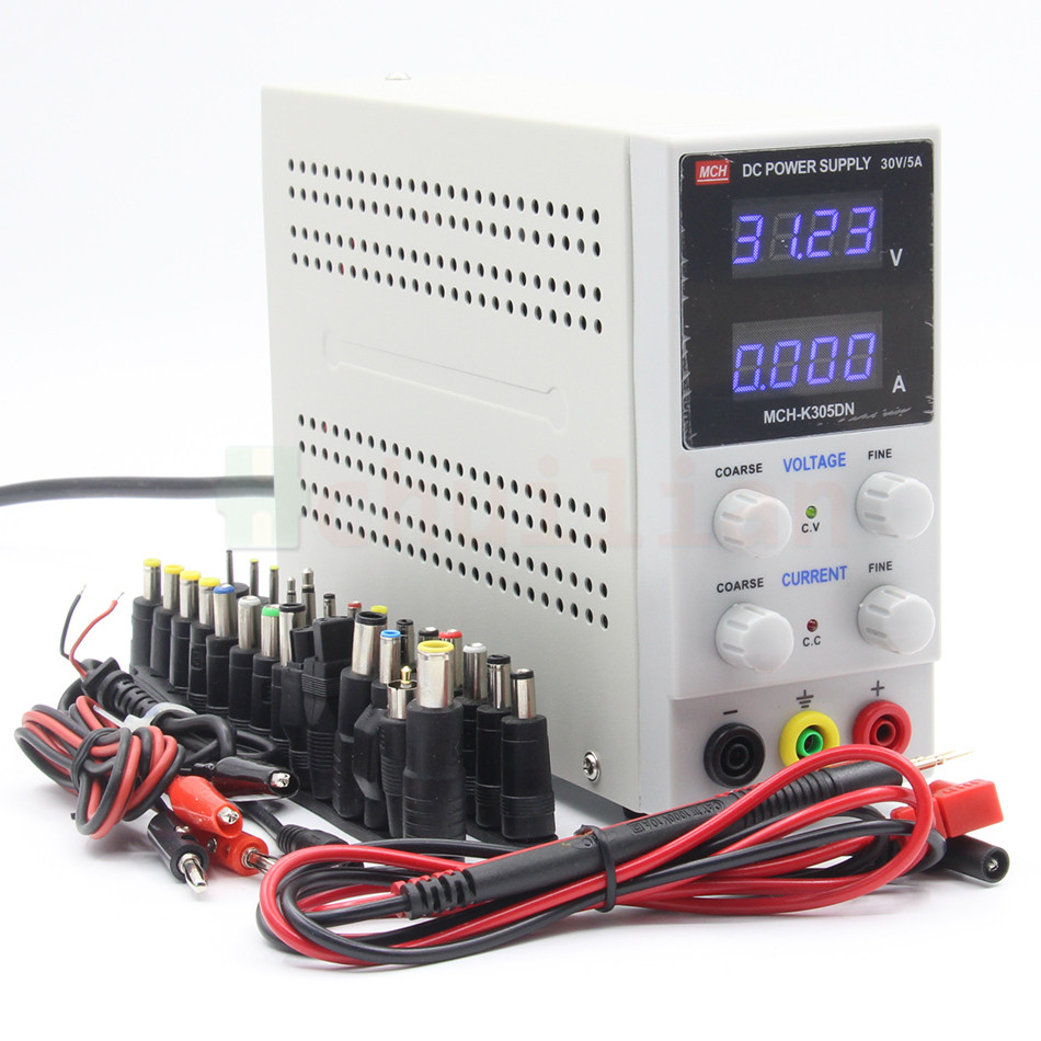 MCH 305DN 305D DC power supply 30V5A digital high precision ammeter for notebook phone repair 110V