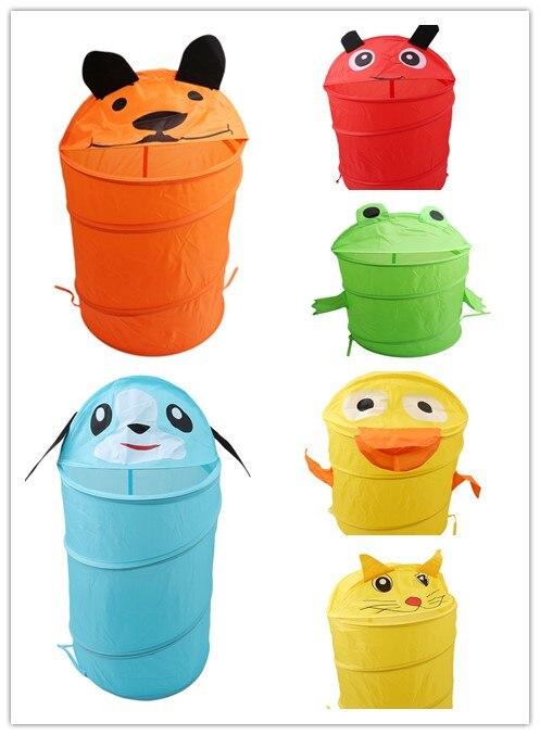 Cute Animal Collapsible Toy Storage Organizer Folding: Toy Container Storage Box Cute Cartoon Animal Storage