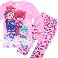 2017 جديد الاطفال الفتيات ninjago الأميرة منامة مجموعات بيجامة infantil النوم الرئيسية ملابس الطفل الأولاد سبايدرمان الملابس
