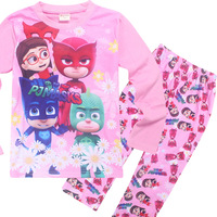 2017 New Kids Girls Ninjago Princess Pyjamas Sets Children S Pajama Infantil Sleepwear Home Clothing Baby