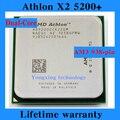 Пожизненная гарантия Athlon X2 5200 + 2.3 ГГц 1 м двухъядерный настольных процессоров AD5200 процессорный сокет AM3 938 контакт. компьютер