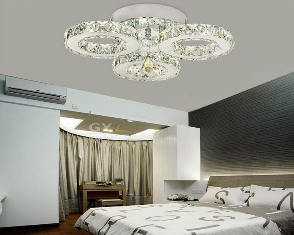 Online kopen wholesale crystal led plafondlamp uit china crystal ...