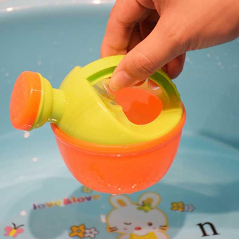 Детская Ванна игрушка пластмассовая Лейка полив горшок пляжная игрушка играть песок игрушка подарок для детей