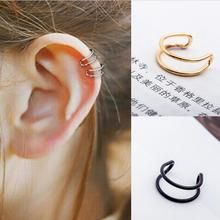 no pierced ear cuff clip on earrings gothic cuffs for women vintage orecchini hole wraps