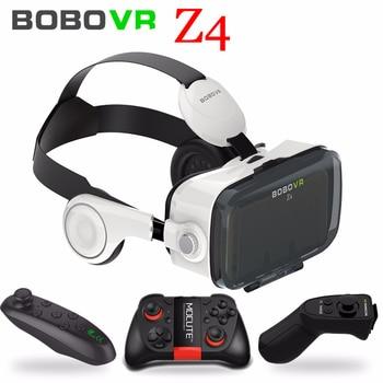 Bobo VR Bobovr Z4  Virtual Reality Headset 3D Gerceklik Google Cardboard Goggles 3D Glasses Smartphone Helmet Headset Lens