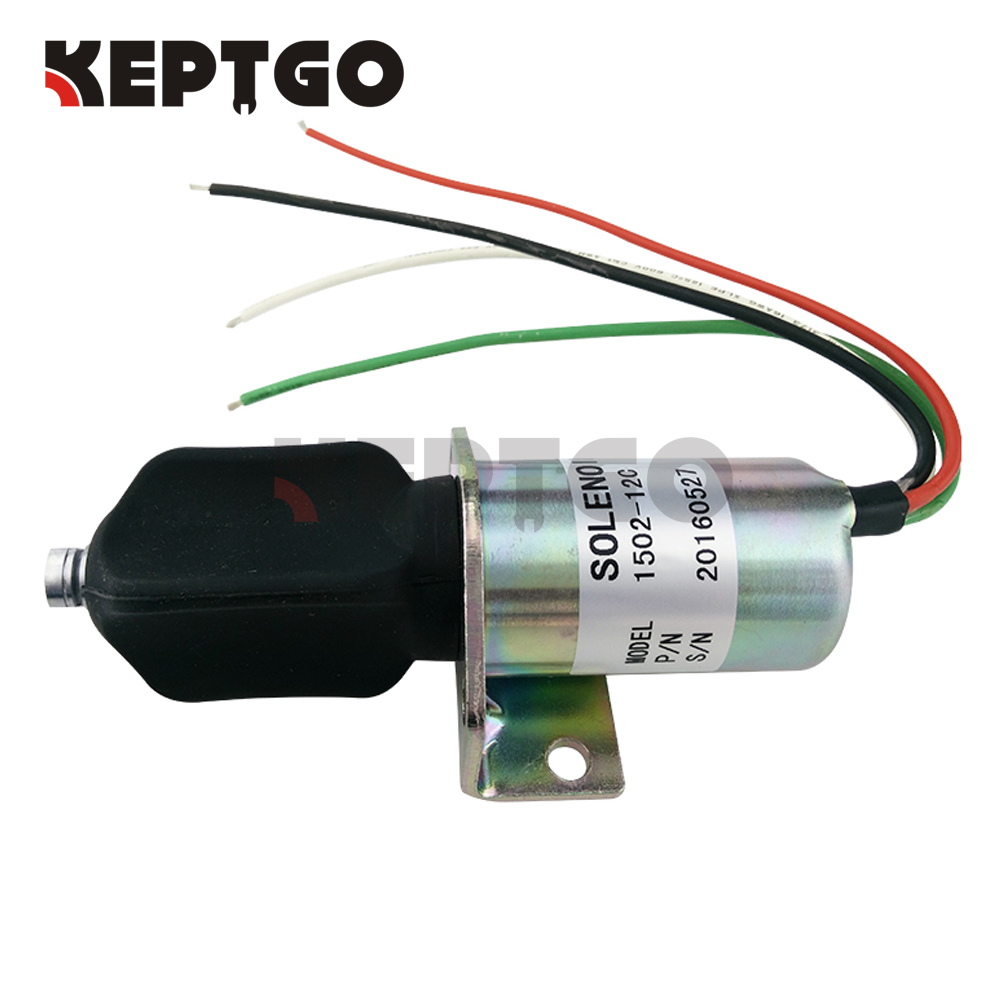 10138PRL 1502-12C 12v Fuel Shutoff Solenoid For Corsa Electric Captain's Call Systems 1502 12a6u1b1 for solenoid 1500 2004 12v 1502