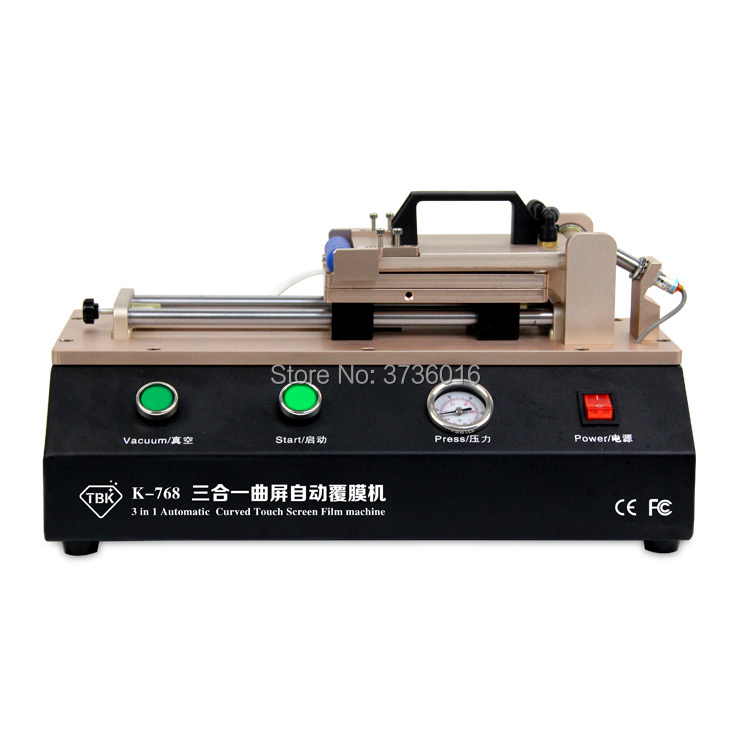 TBK 768 build in pump auto edge oca polarizer film laminating machine for edge lcd edge film machine TBK 768 build in pump auto edge oca polarizer film laminating machine for edge lcd edge film machine