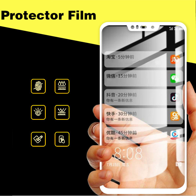Screen Protector Front Film For ASUS Zenfone Max M2 ZB633KL 6.3 inch Full Cover Tempered Glass For Zenfone Max M2 ZB633KL