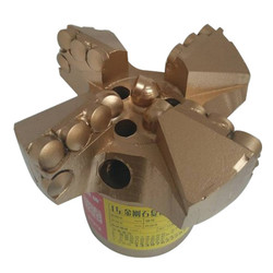 4 Wings Step Drill Bit Well Drilling PDC Drag Bit For Mining Drilling Bit Geological Exploration Coal Mining