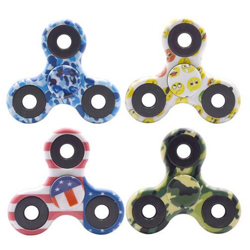 Camouflage Hand Fidget Spinner Finger Spinner Metal bearings EDC Stress Wheel For Kids Autism ADHD Anxiety Relief Focus toys pudcoco metal boys girls rainbow fidget hand finger spinner focus edc bearing stress toys kids adults