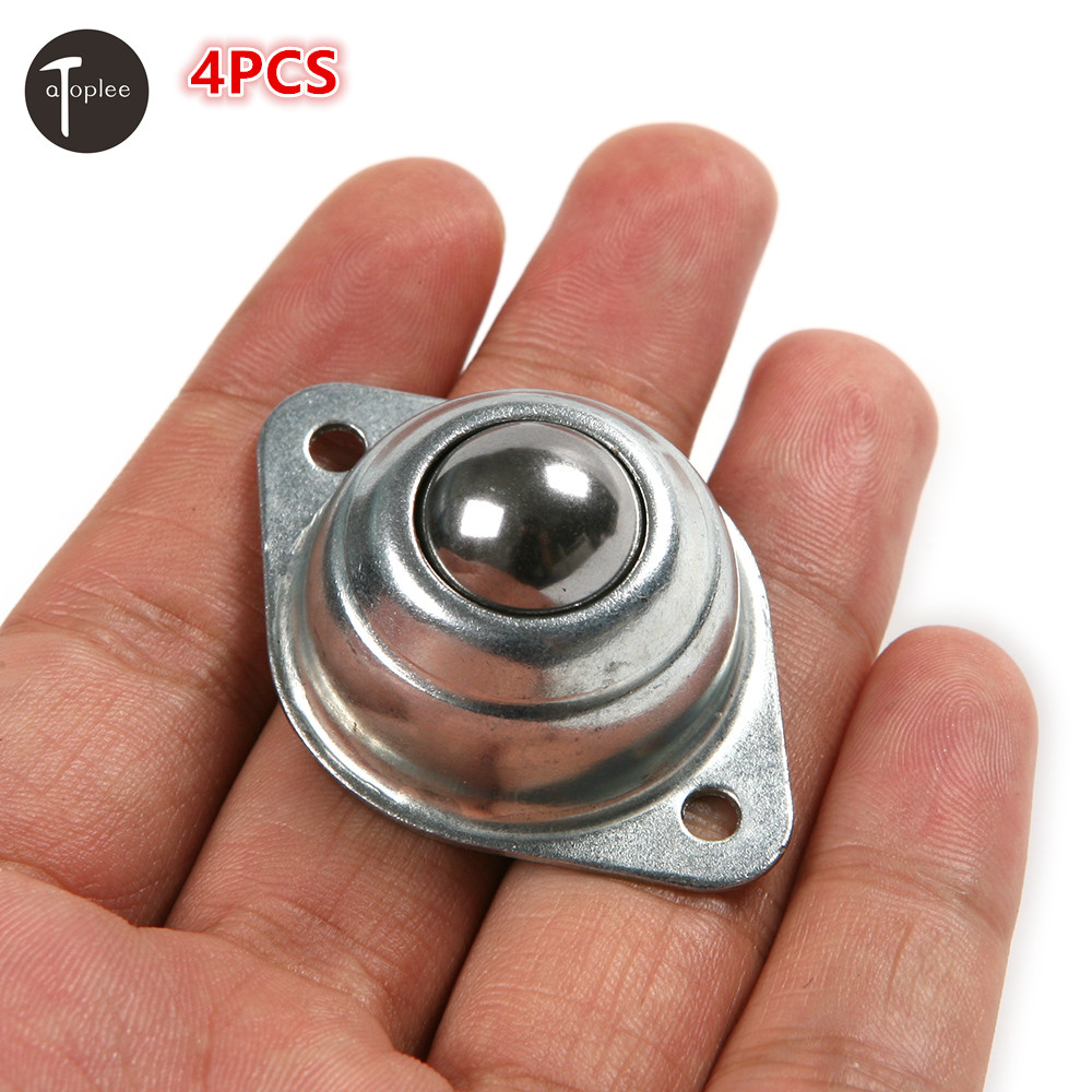 Hot 4PCS Roller Blade Ball Bearings Wheels Silver ...