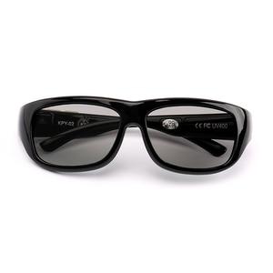 Image 3 - نظارات شمسية معتمة بتحكم في لون إلكتروني متغير ، نظارات شمسية للرجال ، نظارات شمسية رياضية ، نظارات شمسية LCD
