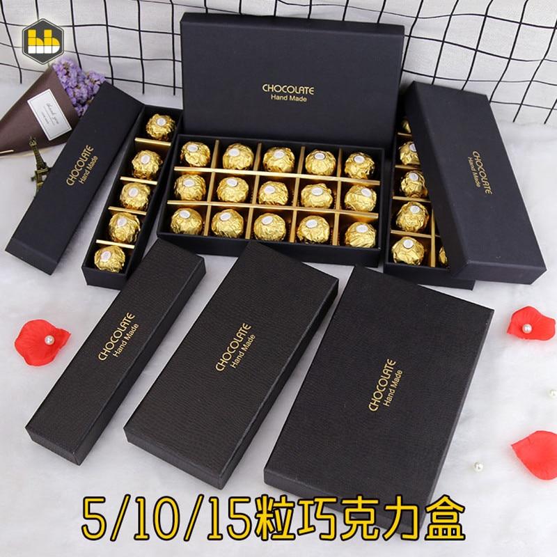Chocolate Box / Hardcover Chocolate Box Is Custom-made Plus Logo Chocolate Box