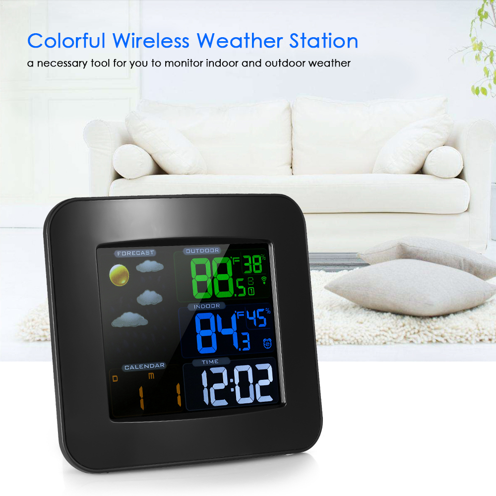Multifunctional Wifi Color Weather Station Temperature