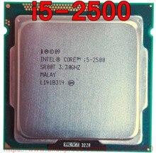 Processador original intel cpu xeon i5 2500 sr00t 3.30 ghz 6 m quad-core i5-2500 soquete 1155 frete grátis rápido navio para fora