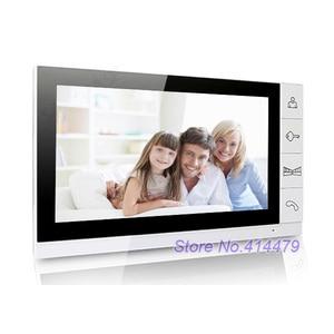 Image 2 - Cheap 9 inch Color LCD Monitor Video Door Phone Doorbell Intercom System 940nm Night Vision Speakerphone Camera