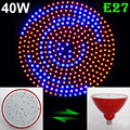 New Arrival E27 40W SMD 352PCS Led Chips 255RED&97BLUE LED Plant Grow Lights Bulb For Plants Garden Hydroponic