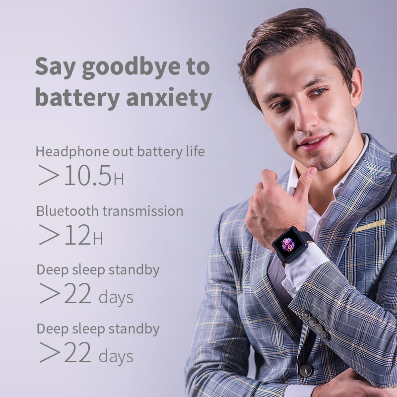 Lecteur MP3 FiiO M5 HiFi | AK4377 | CSR8675 | 32bit/384kHz | natif DSD128 | écran tactile | transmission/réception aptX/LDAC | DAC USB | prise en charge des appels - 3