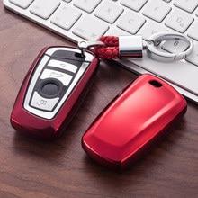 Мягкий ТПУ чехол для автомобильного ключа чехол для BMW 520 525 F10 F30 F18 118i 320i 1 3 5 7 серии X3 X4 M3 M5 защитный чехол для ключа автомобильный Стайлинг