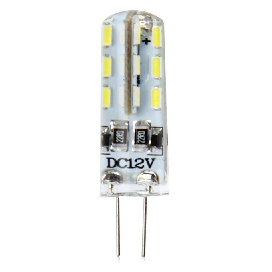 New Multifunction 1.5W G4 Base LED Bulb Lamp High Power SMD3014 DC 12V Warm White Light 360 Degrees Beam Angle 2700K