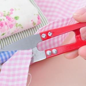 Многоцветные канцелярские ножницы кусачки u-образные кусачки стальные высококачественные декоративные Ножницы Профессиональные портные ножницы