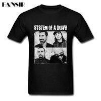 System Of A Down Heavy Metal Men Tshirts Homme T Shirts Men Boy Short Sleeve Crewneck