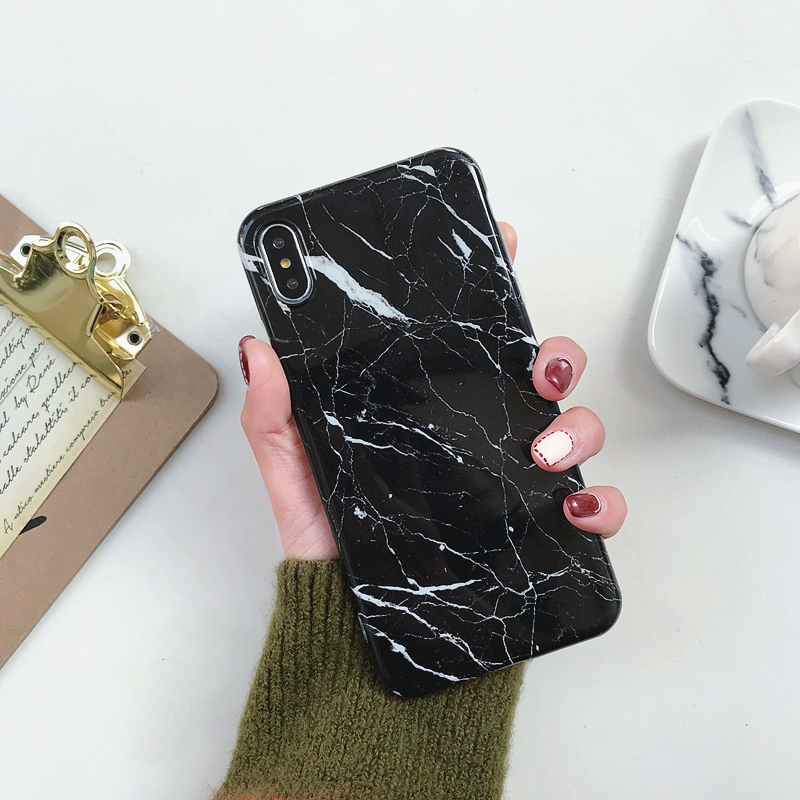 Marble-Case-on-For-Coque-iphone-7-XS-MAX-Case-Soft-TPU-Back-Cover-For-iphone (5)