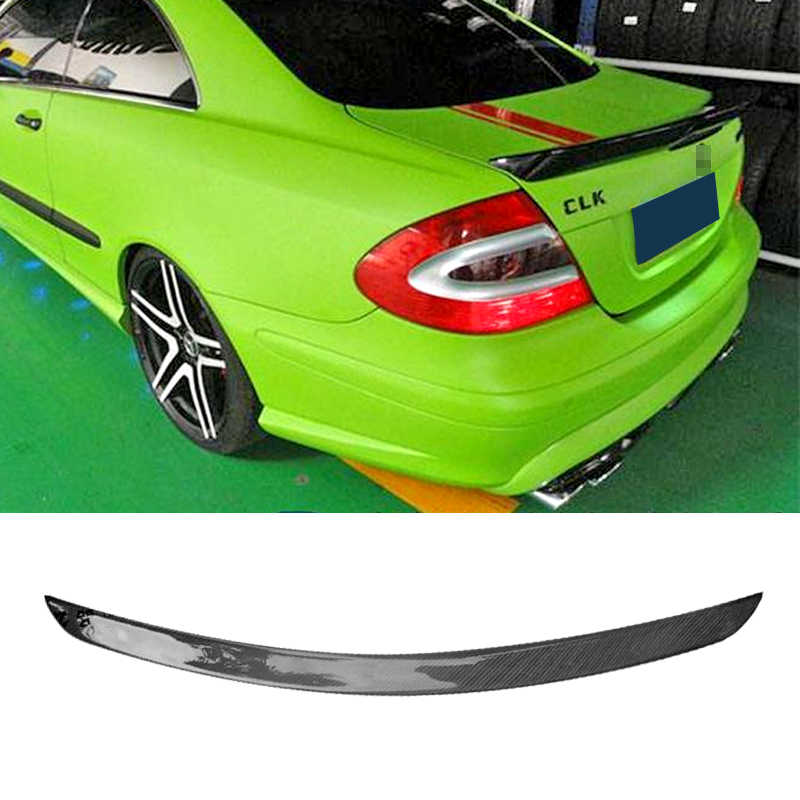 Car Trunk Spoiler Carbon Fiber/FRP Auto Rear Trunk Wing Accessories Spoiler For Benz W209 CLK200 280 350 55 63
