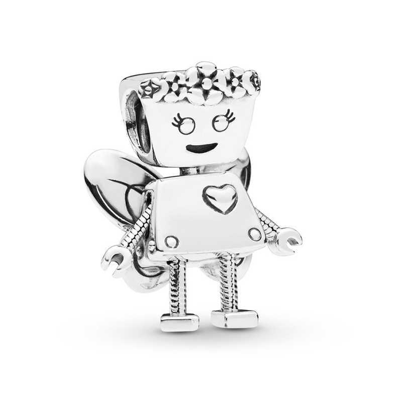 BAOPON 2 Pcs/lot 2019 Silber Überzogene Perle Regenbogen arten von Hohl Liebe Herz Charme Perlen Fit Diy Pandora armbänder Frauen Schmuck
