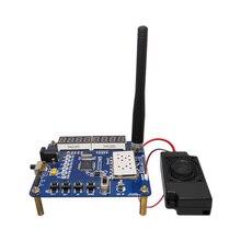 Intercom module demo board kit ( UHF VHF walkie talkie module SA818 +speakers+ straight rod antennas)