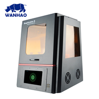 WANHAO D8 (Duplicator 8) 3D printer LCD/DLP UV resin jewelry 3D printer with wifi touch screen big printing size