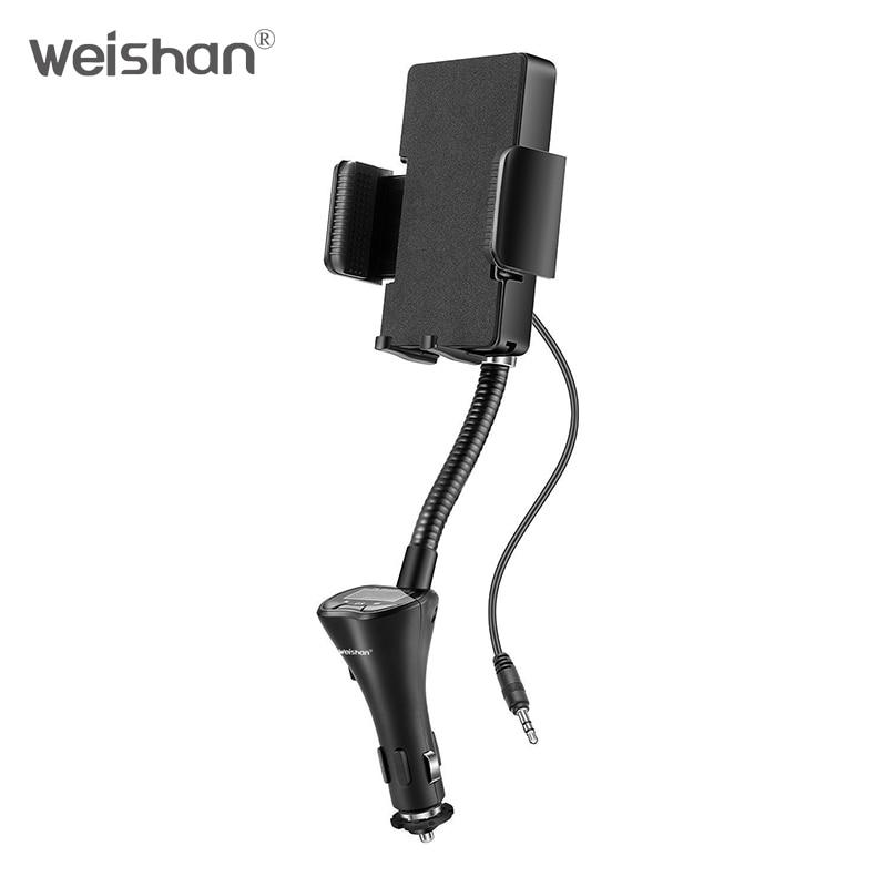 weishan Wireless FM Transmitter Radio Car Kit համար Smart - Ավտոմեքենաների էլեկտրոնիկա - Լուսանկար 4