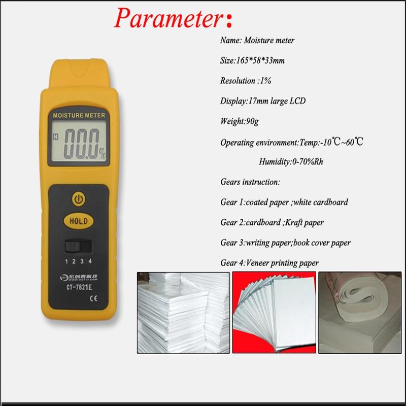0-80% Vochtigheid Detector Muur Bouw Materiaal Inductieve Vochtmeter Muur Bouw Vocht Test Instrument Apparatuur