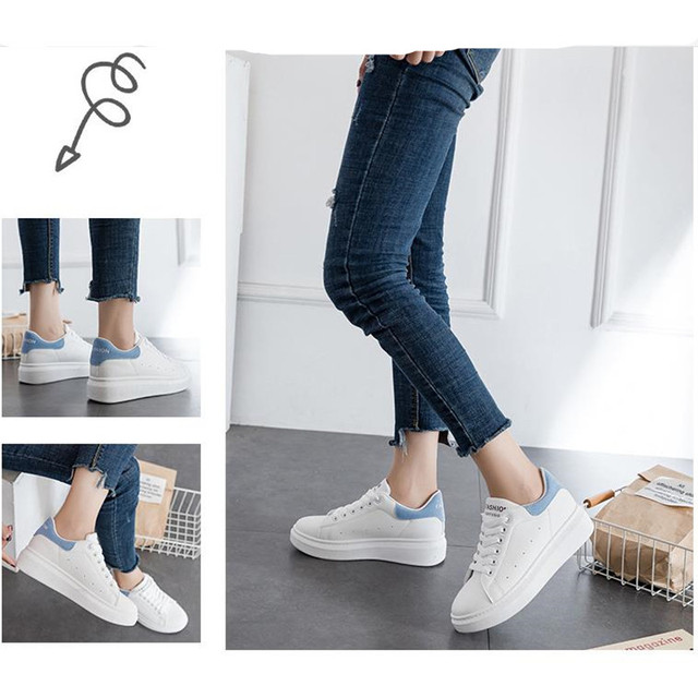 Sneakers women's 2019 breathable mesh casual shoes women's fashion sports shoes with high-grade casual women's shoes 1