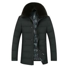 2017 NEW Large siz 7XL 6XL 5XL Winter Splicing Cotton-Padded Coat JacketS Winter Size Parkas High Quality Fur collar zipper
