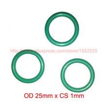 OD 25mm x CS 1mm viton fkm high temperature o ring oring o-ring cord sealing rubber