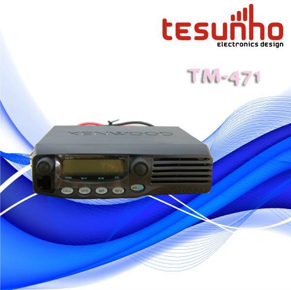 TESUNHO TM-471 MOBILE WALKIE TALKIE VEHICLE TWO WAY RADIO CAR TRANSCEIVER