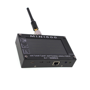 """Image 3 - アンテナカウンター MINI600 HF/VHF/UHF アンテナテスターミニ 600 周波数 0.1 600 4.3 """"TFT 液晶タッチスクリーンアンテナ · アナライザ"""