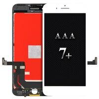 Display del cellulare per iphone 7 più 3D LCD Touch Assemblea di schermo di Ricambio per AAA LG quality No dead pixel black & white