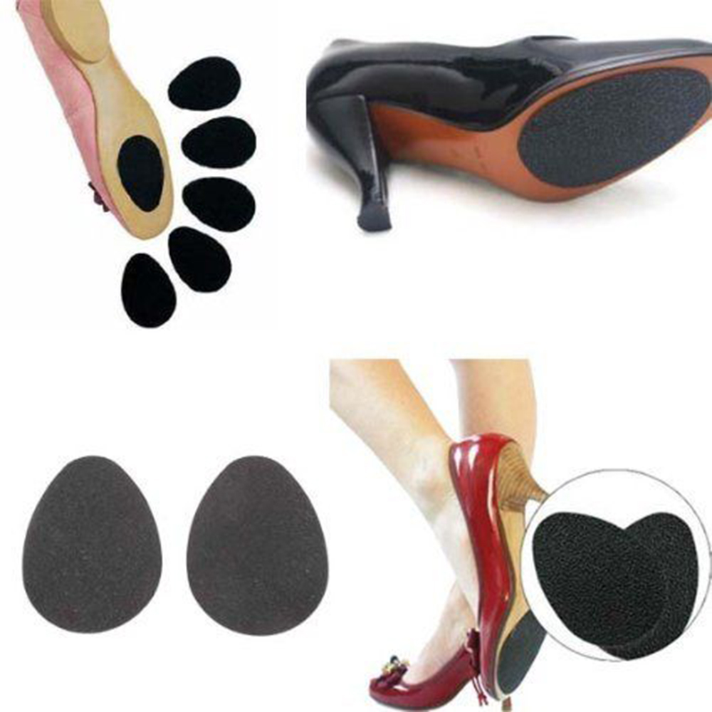 10 piceses/lot  Anti-Slip Shoes Heel Sole Protector Pads Self-Adhesive Non-Slip Grip Cushion accessories  80mm*50mm 5 pairs slica gel silicone shoe pad insoles women s high heel cushion protect comfy feet palm care pads accessories