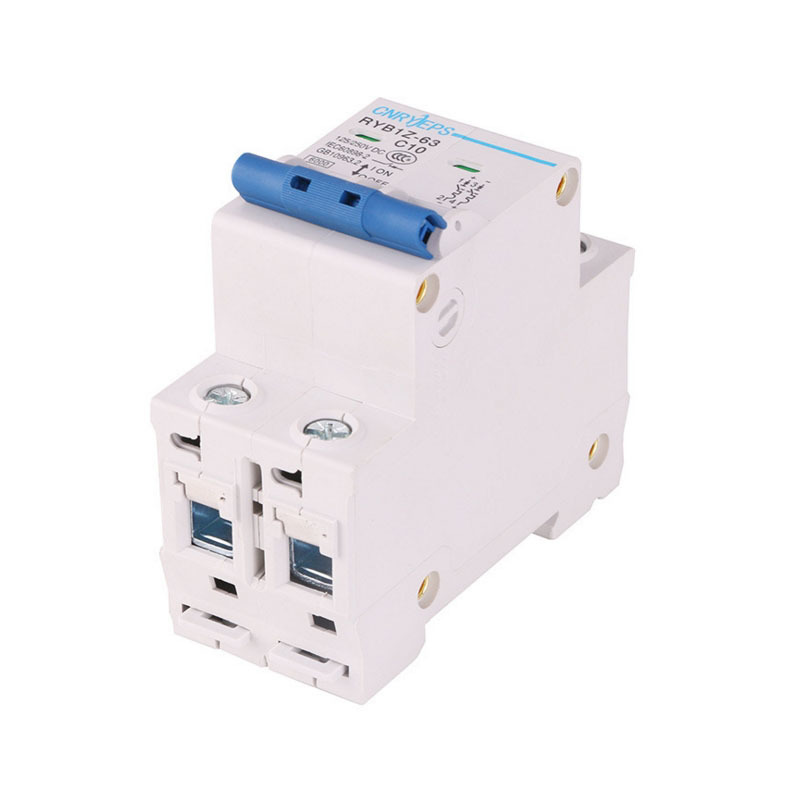 Volts Grid Connection Special purpose Direct RYB1Z 2P10A Light Volt Mini Circuit Breaker DC250V disjuntor dc in Circuit Breakers from Home Improvement