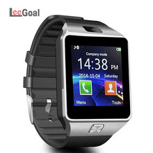 DZ09 Touch Screen Music Player Smart Watch Bluetooth Camera Smart Wrist Watch Support SIM TF Card Android Apple System недорого