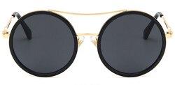 Okrągłe okulary przeciwsłoneczne damskie 2020 Vintage okulary przeciwsłoneczne damskie gefas de sol okulary przeciwsłoneczne oneczne okulary przeciwsłoneczne UV400 6