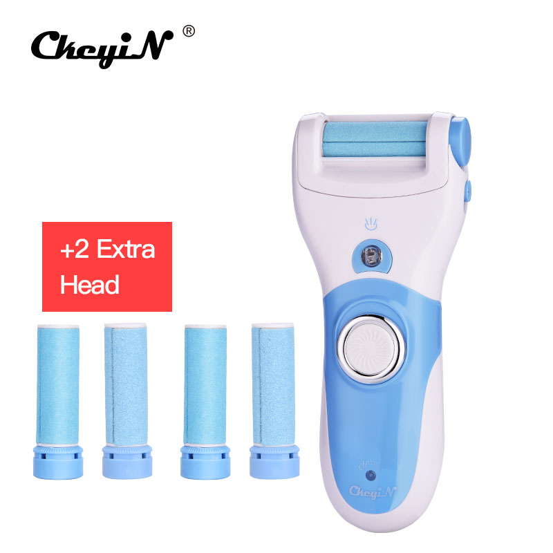 Electric Foot Callus Remover Feet Care Tool Pedicure Dead Skin Exfoliating Removal + 6pcs Roller Grinding Head Replacement 2pcs rechargeable callus remover feet care dead skin exfoliating removal pedicure kit 2pcs roller grinding head replacement
