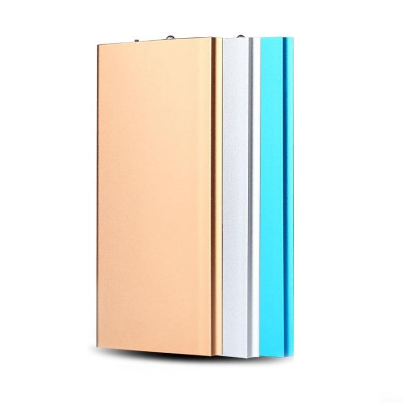 Dual USB Power Bank 20000 mah Tragbare Ultra-dünnen Polymer Power Externe Batterie Ladegerät Für Handys Tabletten Poverbank